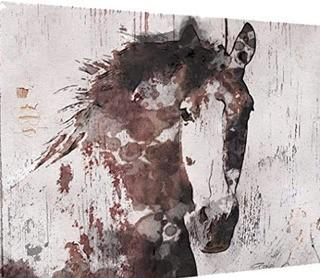 Gorgeous Horse IV Graphic Art on Wrapped Canvas18X12""