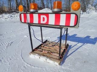 Pilot Truck Sign