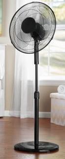 Mainstays Oscillating Standing Fan