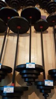Muscle Smith Bar Bell with 37 kg of weights