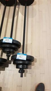 Muscle Smith Bar Bell with 17 kg of weights