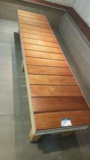 Wood Locker Bench