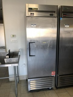 "True T23HC 2'6""x2'3""x6'11"" Single Door Refrigerator, C/W 4 Shelves. S/N 8715091"