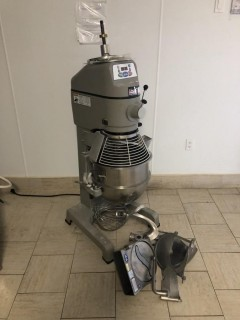 Globe SP30 1 HP Electric Mixer, C/W Bowls and Attachments. S/N 73 18750
