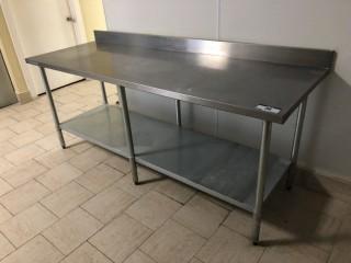 "2'6""x7' Prep Table"