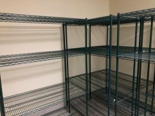 (7) 2'x4'x6' Adjustable Storage Racks