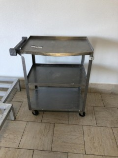 Stainless Steel 3 Tier Cart