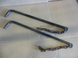 1 Set of Sway Bars for Equalizer Hitch