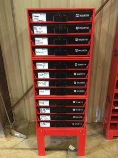 Wurth 12 Drawer Hardware Storage Box