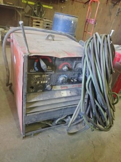 Lincoln DC 400 Arc Welder. S/N 311436
