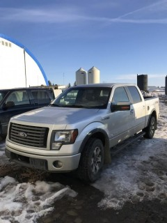 2012 Ford F-150 FX4 4X4 Crew Cab C/W 3.5L Eco Boost, A/T. VIN# 1FTFW1ET8CFB66043 **PARTS ONLY**
