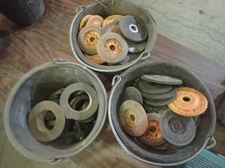 Qty Of Grinding Discs, Duct Tape, Misc Items