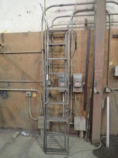 (3) Steel Ladders