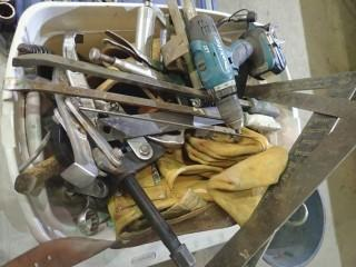 Qty Of Assorted Tools