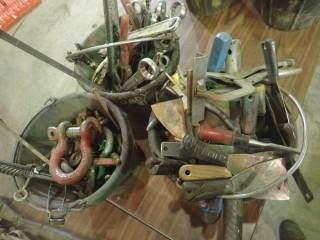 Qty Of Assorted Hand Tools