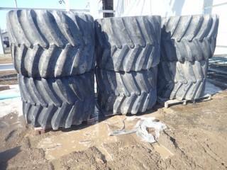 6 Firestone Tires - 54X37.00-25