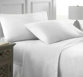 Wayfair Basics Series 4 Piece Sheet Set, Full, White