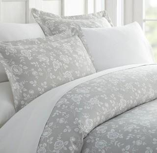 Barker Rose Duvet Cover Set, Cal King