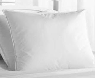 Glucksteinhome Medium Support Pillow Ideal For Back Sleepers, Synthetic, Standard