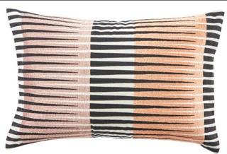 """Jaipur Living Tribeca Geometric Lumbar Pillow 16x24"""""""