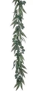 Gracie Oaks California Eucalyptus Garland 10'' H x 4'' D x 72'' L