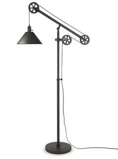 "Carlisle Douthit 70"" LED Floor Lamp, Blackened Bronze"