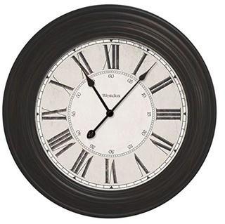 "Oversized Emmaline Round 24"" Wall Clock"