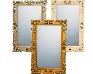 "Cecelia Cecelia Essential Accent Mirror, Silver 30x20"""