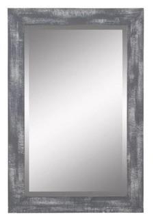 """Longwood Wall Mirror Grey, 30"""" H x 20"""" W x 1"""" D"""