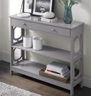 Buffavento Console Table, Grey 31.5'' H x 39.5'' L x 12'' D