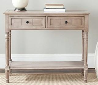 Manning 2 Drawer Console Table Vinatage Grey