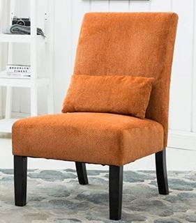 Randi Slipper Chair, Orange
