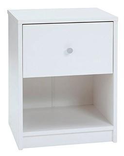 Altus 1 Drawer Nightstand, White