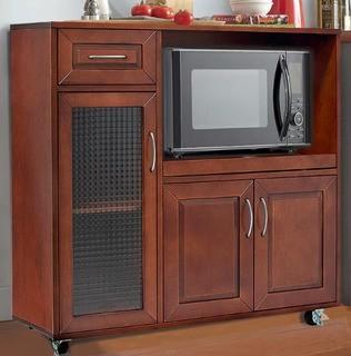 Landfall Microwave Cart