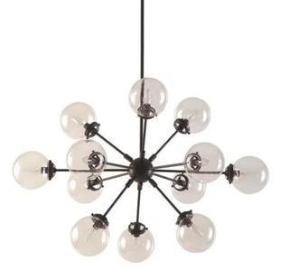Benites 12-Light Sputnik Chandelier, Brown