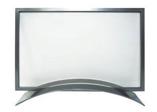 Orion Single Panel Steel Fireplace Screen