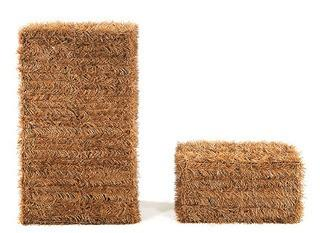 HAL?Bales of Hay Harvest or Halloween Decoration (Set of 2)