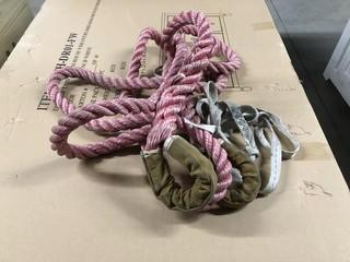 Lot of New Polyester Braided Tow Rope