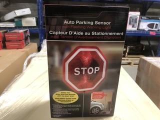 Lot of (2) New Auto Parking Sensor w/ Flashing Warning Light