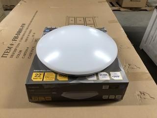 "Luminus 13"" Integrated LED Round Ceiling Fixture I"