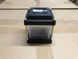 Lot of (4) New Intermatic Malibu LED Solar Accent Lights