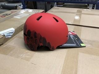 Lot of (2) Bell Ollie Multisport Helmet. Age 8-14
