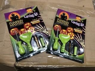 Lot of Misc. Pumpkin Masters Jack-o-Lantern Carving Kits