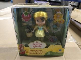 Lot of (3) New Strawberry Shortcake Dolls 1 Raspberry Torte 1 Lemon Meringue 1 Strawberry Shortcake