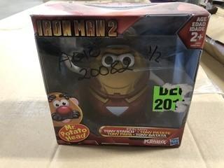 Lot of (2) New Mr.Potato Head Tony Starch Dolls