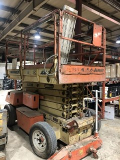 1998 JLG 3969-E Electric Scissor Lift *LOCATED AT FOREMOST YARD IN LLOYDMINSTER** For Viewing/Information Contact Jason At 780-870-0193