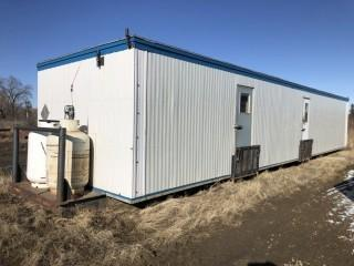 12X60 Skid Mounted Change Room c/w Contents s/n OBL **LOCATED AT FOREMOST YARD IN LLOYDMINSTER** For Viewing/Information Contact Jason At 780-870-0193