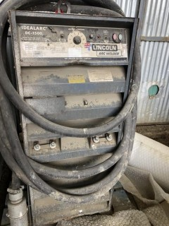 Lincoln Ideal-Arc DC-1500 Welder **LOCATED AT FOREMOST YARD IN LLOYDMINSTER** For Viewing/Information Contact Jason At 780-870-0193