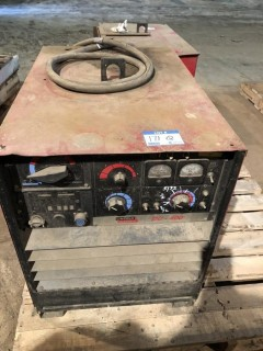Lincoln DC-400 Arc Welder s/n C1001100587