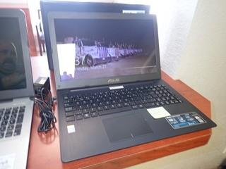 Asus X553M Laptop Computer w/ Powercord. **NOTE: NO HARDDRIVE, LOCATED IN MILK RIVER**